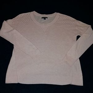 American Eagle Outfitters pink sweater Sz Small